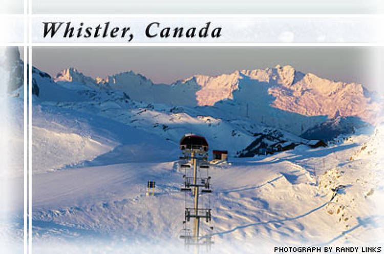 <p> Whistler is gearing up to be the host mountain for the 2010 Winter Olympics in Vancouver. Here's how the resort focuses its energy on green initiatives for the Games: </p> <ul> 	<li>Making sustainability a theme at the Olympics by incorporating environmentally friendly construction and operation of all events.</li> 	<li>Continuing its conservation initiatives, which have reduced electrical consumption by more than 18 percent in the past two years.</li> 	<li>Working with wind generation companies to have a wind monitoring station installed on the mountain within the next year.</li> 	<li>Dedicating $320,000 to conservation initiatives this season.</li> 	<li>Reducing waste by more than 540 tons per year.</li> </ul>