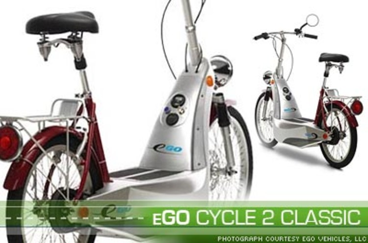 <p>Go from zero to 20 miles per hour in less than four seconds on the <a href=&quot;http://www.egovehicles.com/Products/index.cfm?doc_id=122&quot;>eGO Cycle 2 Classic</a> for up to 15 to 20 miles using a single battery pack. And, it only takes 4 to 6 hours for a full recharge. </p>