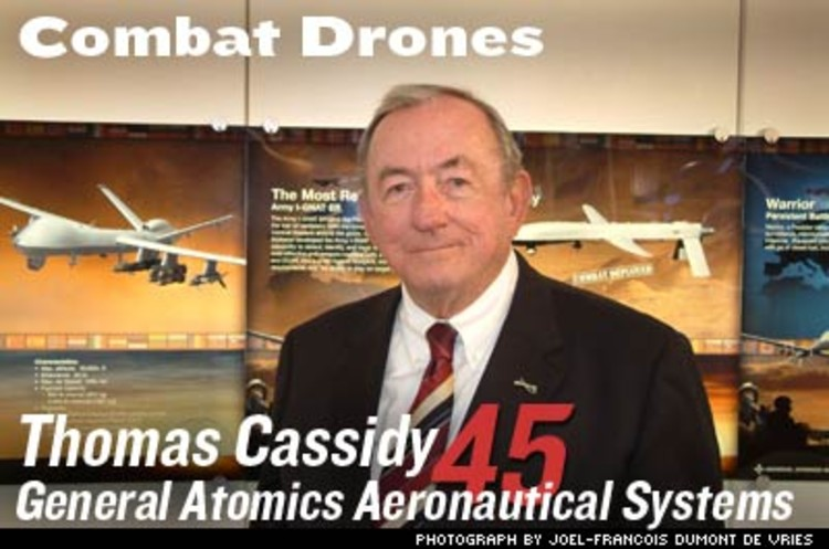 <p>Retired admiral Thomas J. Cassidy took a gamble by building unmanned aerial vehicles on spec. It paid off: Last March, the Air Force committed to buy 156--$5.7 billion worth--of the Cessna-sized Predators. And in August Cassidy won a contract for 132 next-generation drones for the Army.</p>