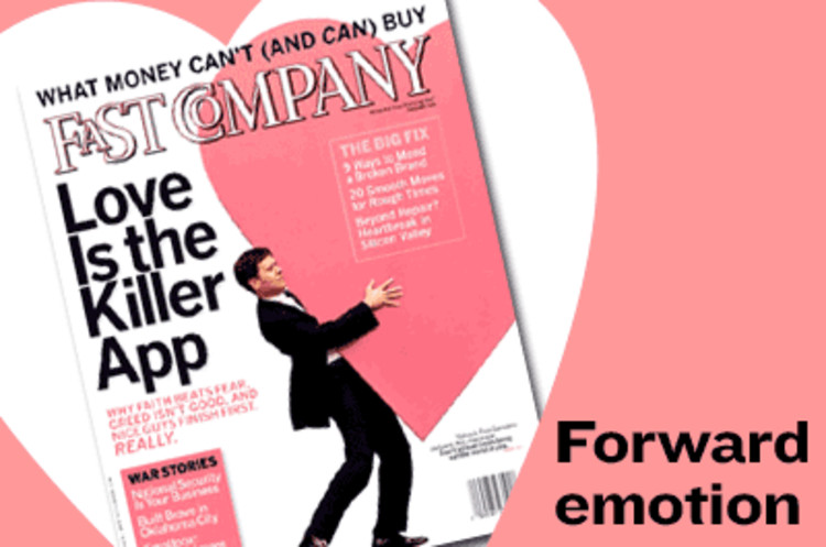 <p><a href=&quot;http://www.fastcompany.com/magazine/55/love.html&quot; target=&quot;_blank&quot;>Love Is the Killer App</a><br /> If you want to fix your future, start by fixing yourself. In the face of war and recession, what the business world needs is less greed -- and more love. So says Yahoo senior executive Tim Sanders, who argues that now more than ever, the road to prosperity is paved with a commitment to generosity.</p>  <p><a href=&quot;http://www.fastcompany.com/magazine/55&quot; target=&quot;_blank&quot;>February 2002 issue</a></p>
