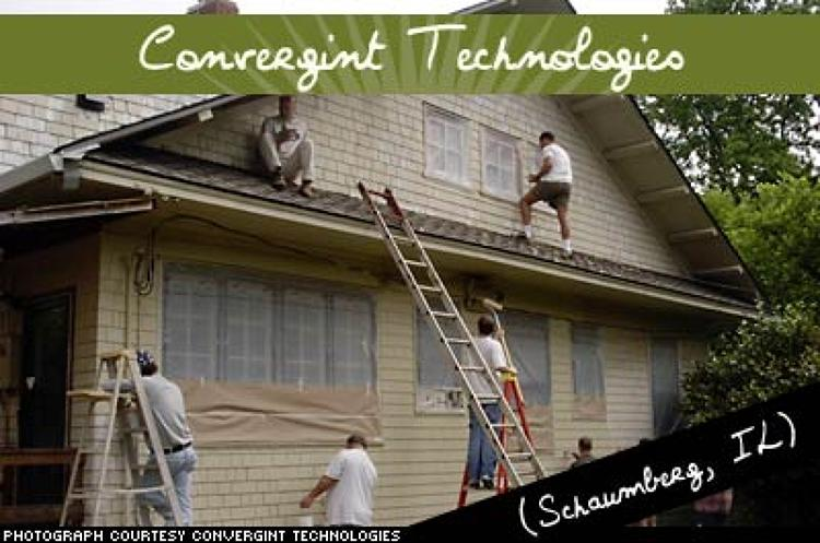 <p>As one of North America's largest life safety, security, and energy management companies, Convergint thrives on serving its community. Its company holiday, Convergint Day, allows all of its 330 employees to volunteer on company time. Convergint donated more than $100,000 in labor and materials before it began making a profit.</p>