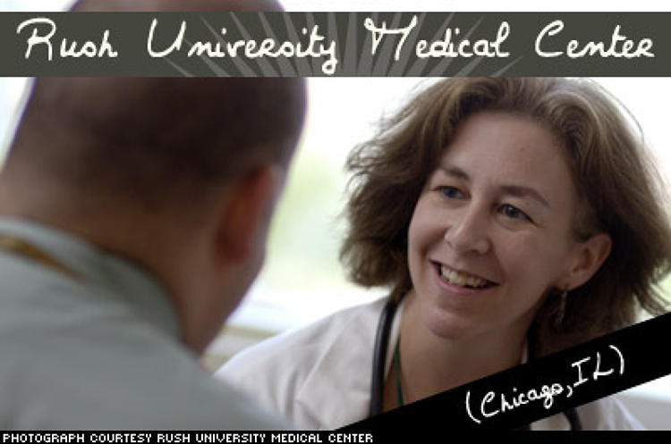 <p>Rush University Medical Center provided more than $126 million in community benefits in fiscal year 2005 -- more than 12% of its annual operating expenses -- to the West Side and to the people of Chicago, embodying characteristic No. 9. Part of that amount consisted of $79.2 million in much-needed care that Rush provided to its patients.</p>