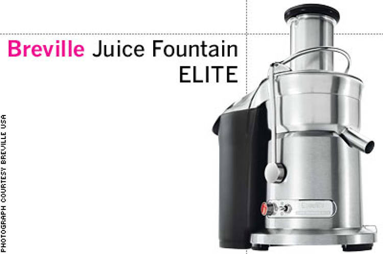 <p> &quot;For the perfect glass of juice. I'm a big juicer, and this has radically changed both prep and delivery time. Changes my day, every day.&quot; -- Scott Williams, Morgans Hotel Group </p>