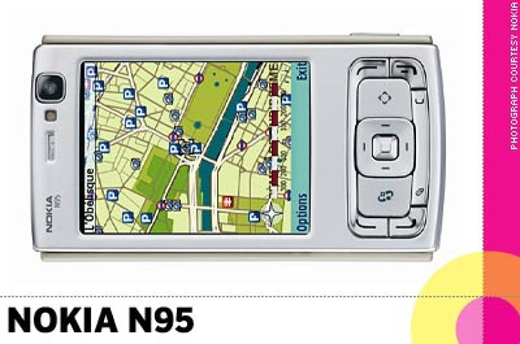 <p> &quot;The <strong>Nokia N95</strong> has everything that you would want to take with you on the road: a 5 megapixel camera with Carl Zeiss Lens, a video camera, wireless LAN, GPS navigation, barcode scanner and media player with an awesome pair of speakers built-in. Also, the two-way horizontal and vertical view with different keypad control is super smart. This phone is for hardcore texters – like me.&quot; -- Nam Do, CEO, Emotiv </p>