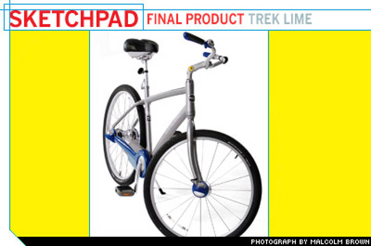 <p> Since releasing the Lime earlier this year, Trek has sold around 10,000 (at just under $600 apiece), but it's not yet a blockbuster. Just as Trek didn't know how to build bikes for casual riders, the company worries that many bike shops don't know how to sell to them. So Trek and Shimano are working to educate shops about that market. Trek is also wooing female buyers with a new frame that's easier to mount and with additional frame colors such as light green and light blue. </p>