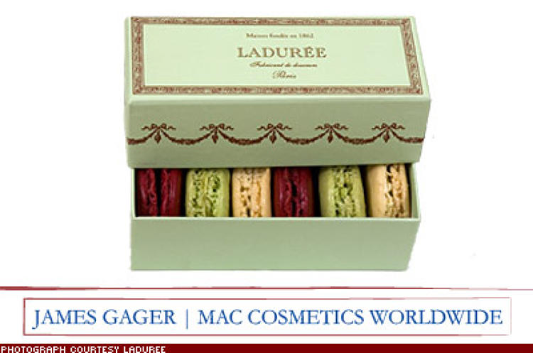 <p>&quot;I want a box of macaroons in assorted flavors from Ladur&#233;e in Paris [a bakery famous for its Pantone-hued macaroons in wild flavors like pepper java and lime basil]. Really delicious -- and beautiful.&quot; $49; <a href=&quot;http://www.laduree.fr/&quot; target=&quot;_blank&quot;>laduree.fr</a></p>