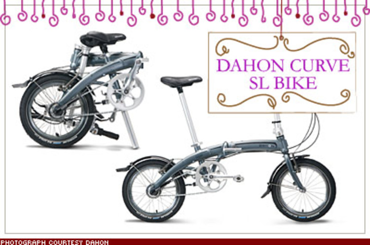 <p>Not only does it break down in just 15 seconds, Dahon's new urban assault vehicle weighs only 20 pounds and easily stows out of sight under your desk or in a cabinet. High-end performance components make it ride like the real thing. $640; <a href=&quot;http://www.dahon.com/&quot; target=&quot;_blank&quot;>dahon.com</a></p>
