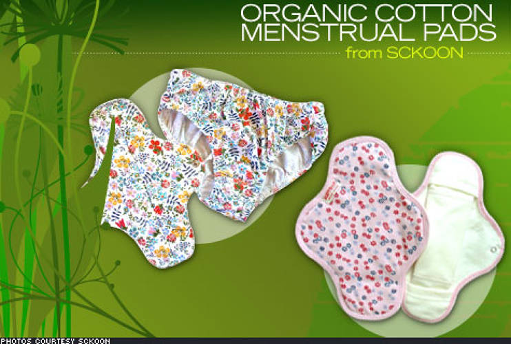 <p> Okay so this isn't your typical fashion item, but the introduction of <a href=&quot;http://www.sckoon.com/clothmenstrualpads.html&quot;>organic, washable menstrual pads</a> has huge eco-potential. Sckoon's vibrantly printed pads are created from certified organic Egyptian cotton and are 100 percent chemical free. The pads can last up to six years allowing you to simultaneously reduce waste and save money. </p>   <p> Two mini four-day pads and two night pads retail for $130. </p>