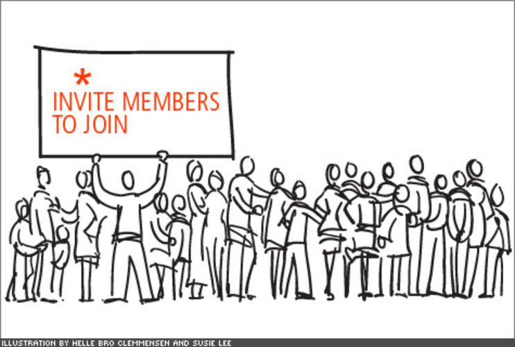 <p>Now that you have some substance, its time to network! Invite people you think would be interested in the group first and make sure they're influencers and will invite others. This will help your member base to multiply exponentially, ensuring heavy traffic to your social network.</p>