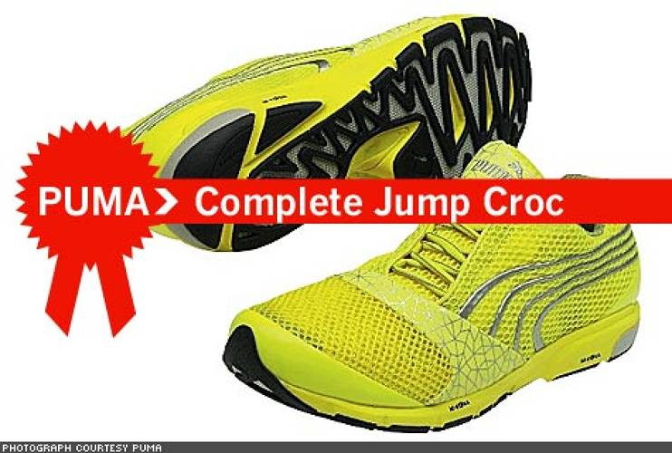 <p> It's no secret that athletes love to win, but they also love looking good while performing in front of enormous crowds. For long and triple jumpers, who strut their stuff (albeit at incredibly high speeds), Puma's Complete Jump Croc gives them both the aesthetic and athletic edge on the competition.  </p>