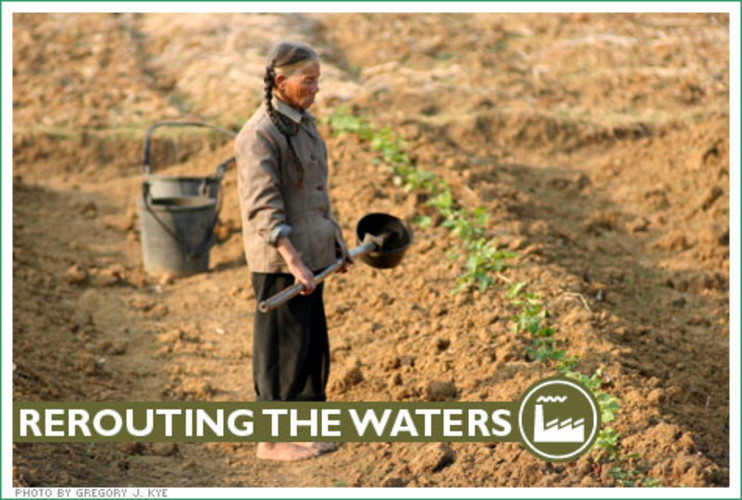 <p> Beijing's Olympic water rerouting plan hasn't been popular with Heibing Province farmers like Tao Qun, who had to give up his land--parched as it was--to make way for a special reservoir to feed the Olympics. </p>