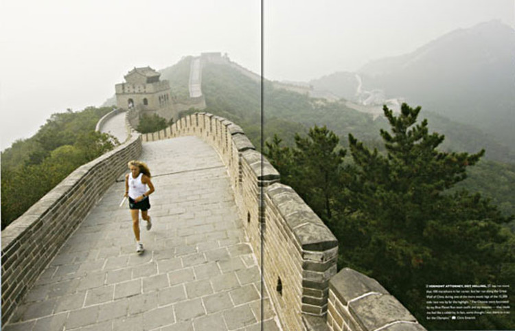 In 2007, the Foundation held its first awareness and fundraising event, the Blue Planet Run, the first-ever around-the-world relay run.<br><br>  Vermont attorney Dot Helling, 57, has run more than 100 marathons in her career, but her dash along the Great Wall of China during one of the more exotic legs of the 15,200-mile Blue Planet Run was by far the highlight of her journey. &quot;The Chinese were fascinated by my team outfit and my muscles -- they made me feel like a celebrity. In fact, some thought I was there to train for the Olympics.&quot;