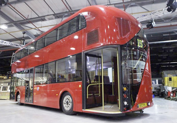 That British icon, the red double-decker bus, is getting an update that will make it sleeker and, more importantly, much cleaner. </br></br> <a href=&quot;http://www.fastcoexist.com/1679105/london-s-new-red-and-green-double-decker-bus#1&quot;>Read more here</a>
