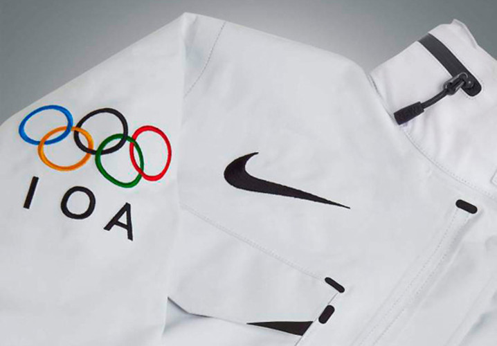 Not every Olympian is privileged enough to play for their home country. So what do they wear? </br></br> <a href=&quot;http://www.fastcodesign.com/1670404/nike-s-olympic-gear-for-athletes-without-countries#1&quot;>Read more here</a>