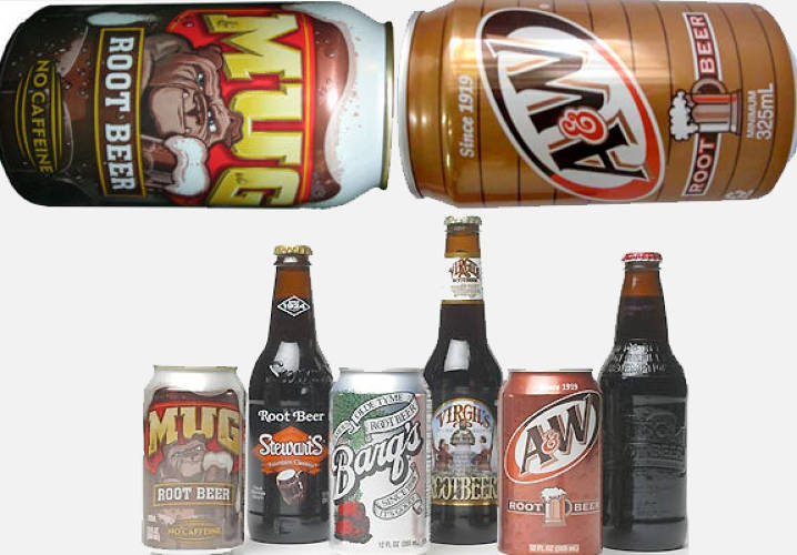 After all, of all the products we've shown you so far, isn't the most overlooked culprit (albeit non-drug related) root beer? Look at any can of Mug or A&W, and you'll see a frothy golden brew that'd make even Henry Louis Gates and Sgt. Crowley want to hit the bar tap together. They come in glass beer bottles--heck, they even say &quot;beer&quot; on the label! Isn't this a bad habit to ingrain in kids' minds? <p></p> But of course, this is an overly P.C. P.O.V. to take. And if you think any of the products previously listed should be banned -- packs of candy cigarettes, cans of Cocaine, pouches of Big League Chew &quot;tobacco&quot; -- then you most certainly should include Barq's on that list too.