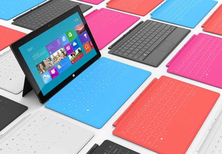 <p>Glossy as it is on its surface, Microsoft's chic new tablet actually packs some seriously clever design and engineering in the technological innards beneath its Gorilla Glass screen.</p><p>  Actually, there's cleverness in the chassis behind and around the tablet and even hanging off the edge, attached by a discrete but sophisticated magnetic latching mechanism.</p>