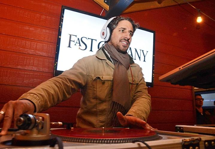 DJ At The Fast Company Grill