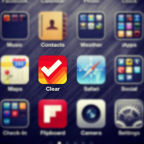 "<p>Clear is an app that aims only to &quot;<a href=&quot;http://www.fastcompany.com/1817206/why-clears-dead-simple-list-stands-out-do-market&quot; target=&quot;_self&quot;>better pen and paper </a>more than anything else.""--Nik Fletcher, product manager for Clear maker Realmac Software.</p>"