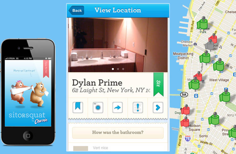 <p>When you gotta go, find more than 100,000 restrooms mapped in this app.</p>