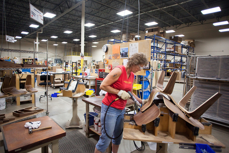 <p>We tour the <a href=&quot;http://www.fastcodesign.com/1669956/watch-the-handmade-process-behind-your-eames-chair#1&quot; target=&quot;_self&quot;>Herman Miller factory</a> that painstakingly crafts many of the Eames's most famous pieces.</p>