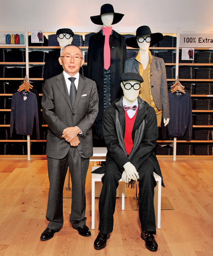 <p><a href=&quot;http://www.fastcompany.com/1839302/cheap-chic-and-made-all-how-uniqlo-plans-take-over-casual-fashion&quot; target=&quot;_self&quot;>Uniqlo founder Yanai</a> uses design and technology to improve upon classic American sportswear--and now he wants to sell it back to Americans.</p>