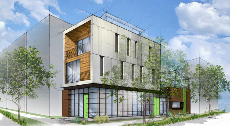 <p>The Pecan Street Inc. Lab, opening in May.</p>