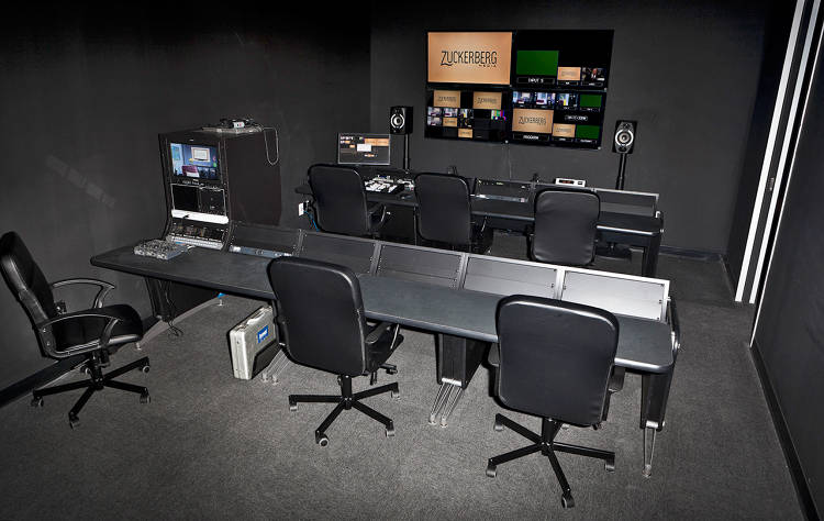 <p>A control room makes it easier to produce complicated shoots.</p>