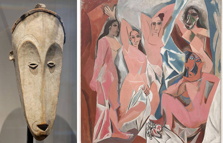 <p>When Picasso unveiled <em>Les Demoiselles d'Avignon</em>, his first work influenced by African art, he was hailed as a groundbreaking artist.</p>