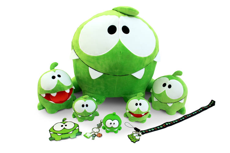 <p>Om Nom's popularity has led to various revenue streams outside the app store.</p>