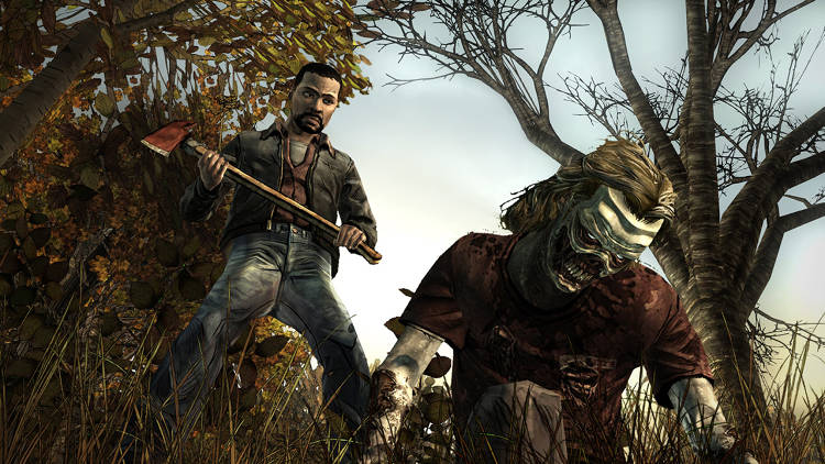 "<p>When episode 2 had to be redone in its entirety—in only two weeks!—Telltale hunkered down. ""It was pretty traumatic,"" says Bruner. ""We never had the entire studio working on one project in the history of the company.""</p>"