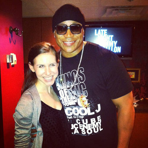 <p>Schweitzer hanging out with LL Cool J.</p>  <p>All photos from <a href=&quot;http://instagram.com/cschweitz/&quot; target=&quot;_blank&quot;>Callie Schweitzer's Instagram account</a>.</p>