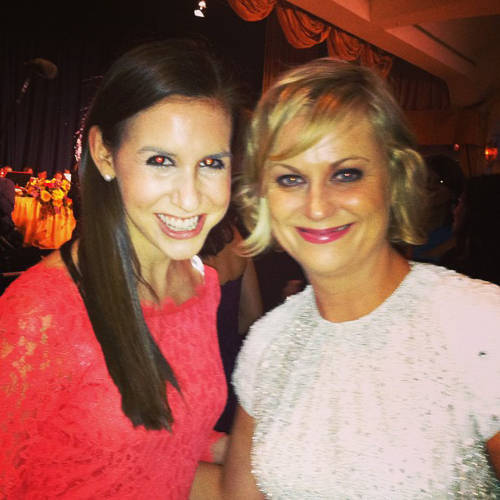 <p>Amy Poehler and Callie Schweitzer.</p>  <p>All photos from <a href=&quot;http://instagram.com/cschweitz/&quot; target=&quot;_blank&quot;>Callie Schweitzer's Instagram account</a>.</p>