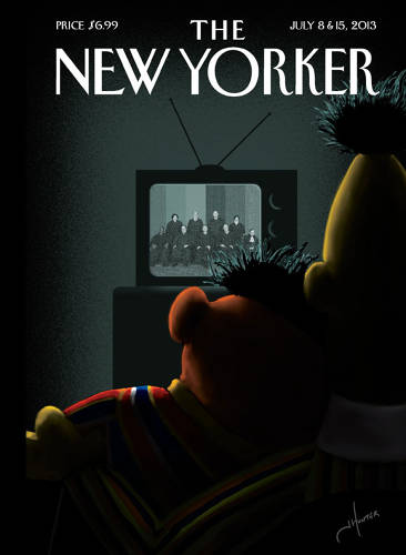 <p><em>The New Yorker</em>'s cover received much acclaim across the web when it was revealed the Friday after the ruling.</p>