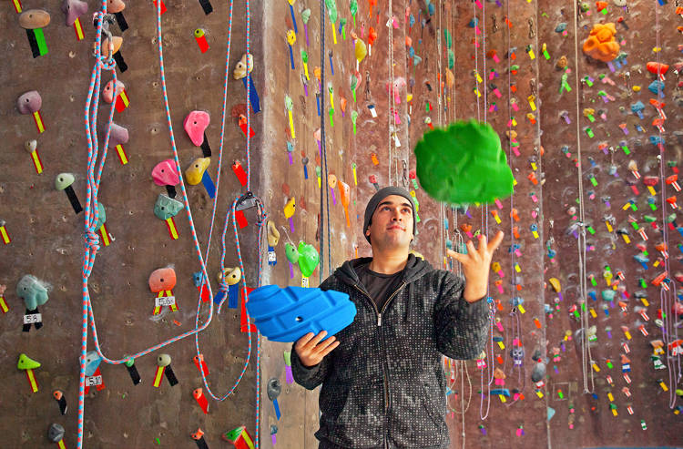 <p>Lance Pinn runs <a href=&quot;http://www.brooklynboulders.com/&quot; target=&quot;_blank&quot;>Brooklyn Boulders</a>, an indoor climbing gym.</p>