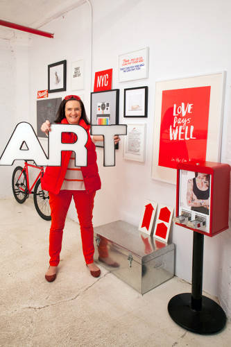 <p>Tina Roth Eisenberg runs a series of design-related companies: Swissmiss, Studiomates, CreativeMornings, Tattly, and Teuxdeux. <a href=&quot;http://tattly.com/&quot; target=&quot;_blank&quot;>Tattly</a>, for instance, makes temporary soy-based tattoos.</p>