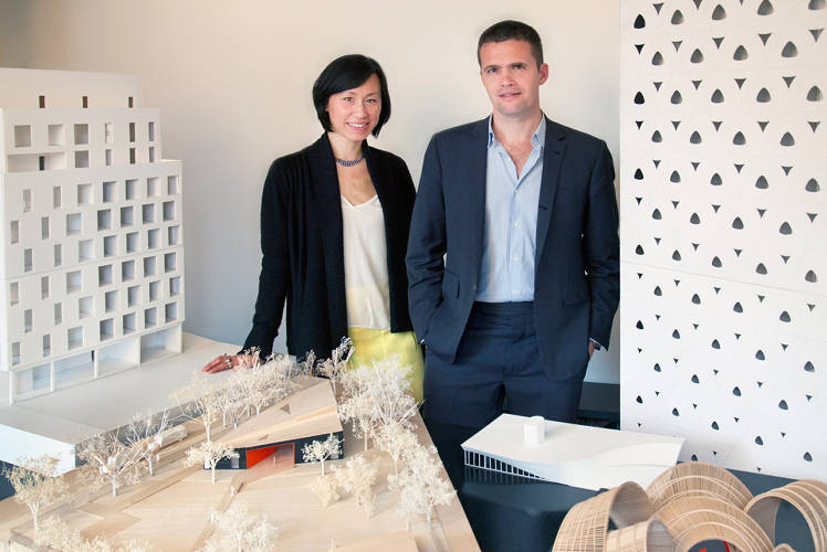 <p>Eric Bunge and Mimi Hoang founded <a href=&quot;http://www.narchitects.com/&quot; target=&quot;_blank&quot;>n ARCHITECTS </a>in 1999. They recently won a competition to design a building housing &quot;micro-units&quot; (miniature apartments) in Manhattan.</p>