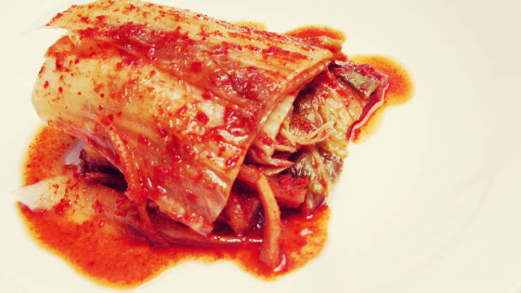 <p>Traditional kimchi is buried underground for months to ferment. It should stay there.</p>
