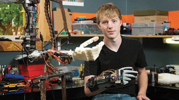 <p>The things that LaChappelle has taught himself are proving valuable to NASA, and he's helping an experienced crew build a robot that will be used in space and in industrial settings worldwide.</p>