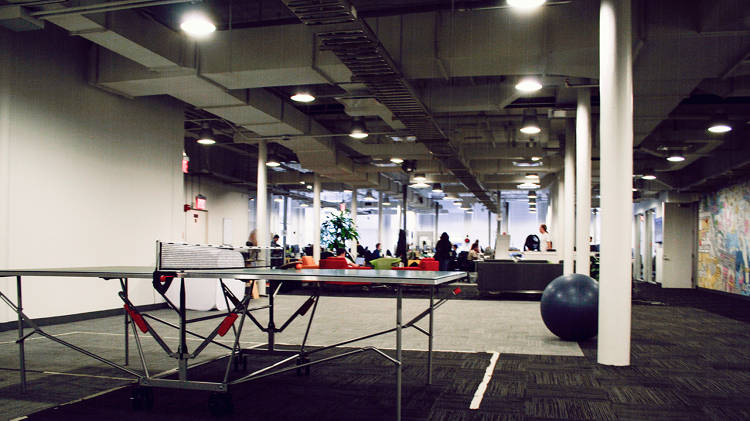 <p>LIke any good Internet-era company, eBay Now has ping-pong tables at its office.</p>