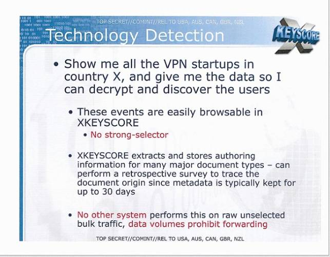 <p>Have a non-U.S. startup offering VPN services? It's a fair guess the NSA is spying on your firm.</p>