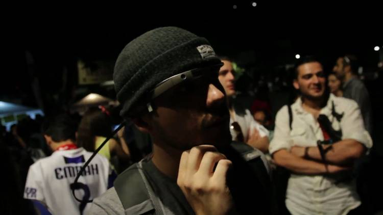 <p>Pool uses Google Glass to record video and stills for Vice.com during volatile demonstrations.</p>