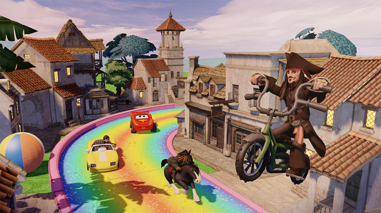 <p>&quot;They wanted to combine all the Pixar characters together in one game and one world,&quot; John Lasseter says of the first time Avalanche pitched <em>Disney Infinity</em>. &quot;That's always been taboo. We just don't do that. I can't stand when they just ignore the story and put them in a magical world where they all live together.&quot;</p>