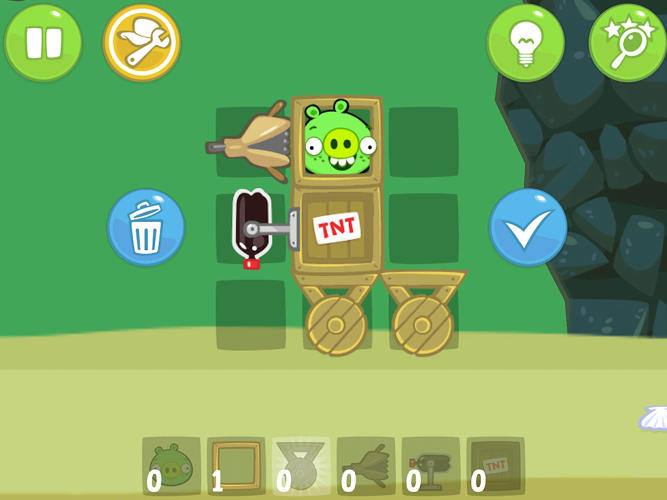<p>Bad Piggies (<a href=&quot;http://www.fastcompany.com/3001623/top-rovio-execs-talk-bad-piggies-the-addictive-second-act-from-angry-birds-creators&quot; target=&quot;_self&quot;>an app that we've covered in the past</a>) comes from the creators of Angry Birds, and takes users on a 140 levels of pig-flying madness.</p>