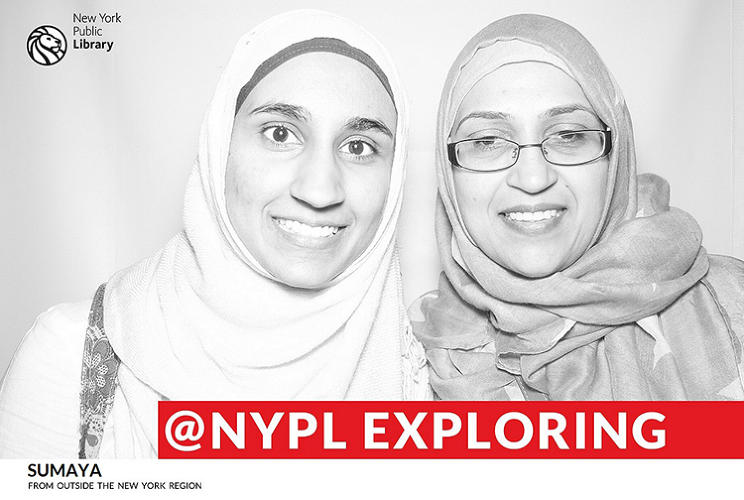 <p>The idea for the photobooth came together in a brainstorming session Weine had with Theresa Myrhol, head of the mid-Manhattan branch, when they were figuring out how to make going to the library a more engaging social media experience.</p>