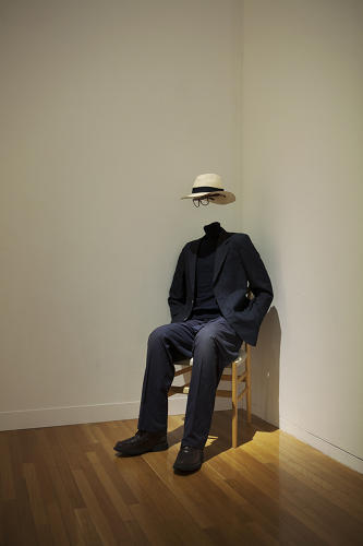 <p>An invisible man watches over the installation, delightfully doing nothing to stop children from breaking just about every museum rule in the book.</p>