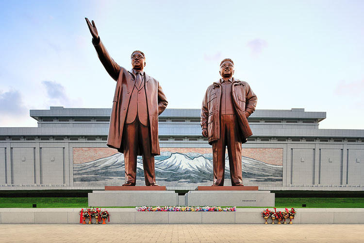 <p>Sure, Pyongyang, the North Korean capital, really does look like this.</p>