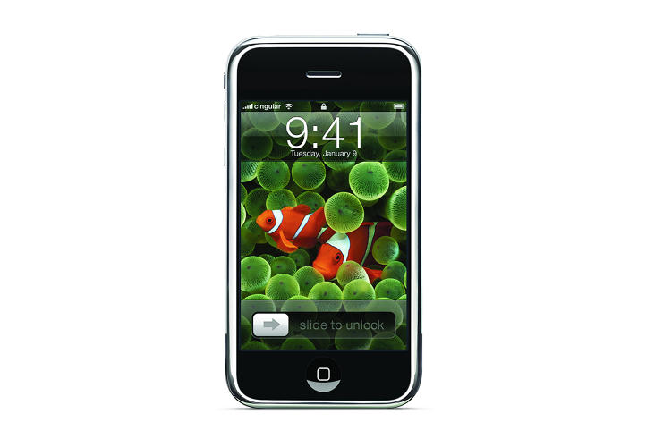 <p>The &quot;Jesus Phone&quot; as some called it, was unveiled in January 2007. Its sleek package and emphasis on communication being much more than talking on the phone had hundreds of people lining up outside Apple Stores for its release.</p>