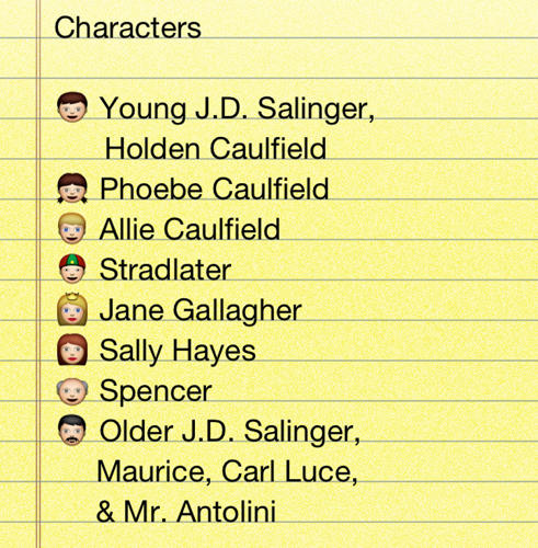 an overview of the characters in the works of j d salinger Get free homework help on j d salinger's the catcher in the rye: book summary, chapter summary and analysis, quotes, essays, and character analysis courtesy of cliffsnotes.