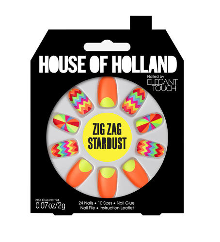 <p>In collaboration with Elegant Touch, House of Holland has created a new line of false nails, inspired by designer Henry Holland's collection for London's Fall 2013 Fashion Week.</p>