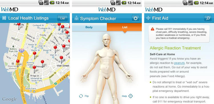 <p>Web Md's mobile app recently received a full make over and now comes with a handy glossary of often misunderstood medical terms. With the app you can look up any ailment that's bothering you (just take a deep breath and realize that a headache doesn't mean you have a brain tumor), and find the best local clinic to get checked out.</p>